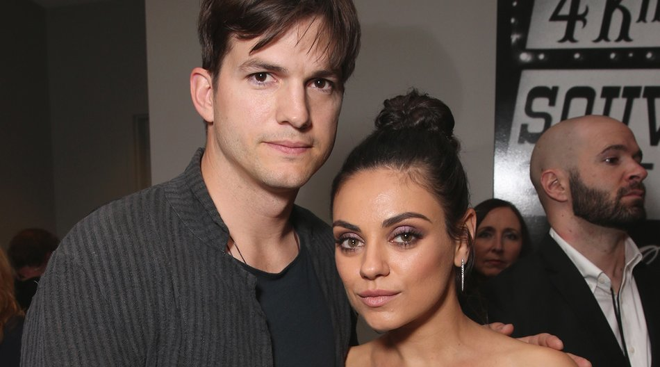 LAS VEGAS, NV - MAY 22: (L-R) Actors Ashton Kutcher and Mila Kunis attend the 2016 Billboard Music Awards at T-Mobile Arena on May 22, 2016 in Las Vegas, Nevada. (Photo by Todd Williamson/BBMA2016/Getty Images for dcp)