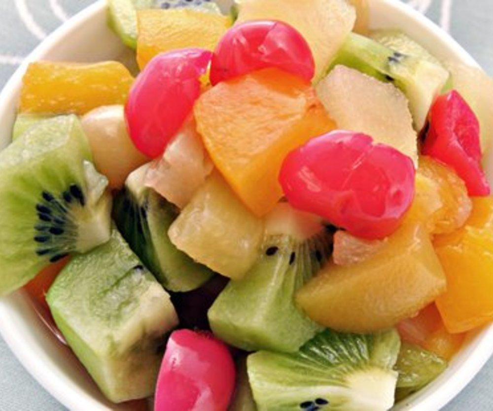 Einfacher Obstsalat