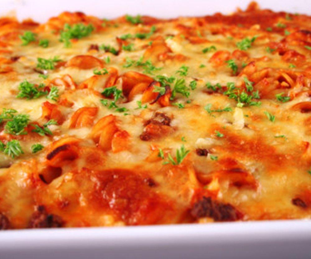 Spaghetti Auflauf
