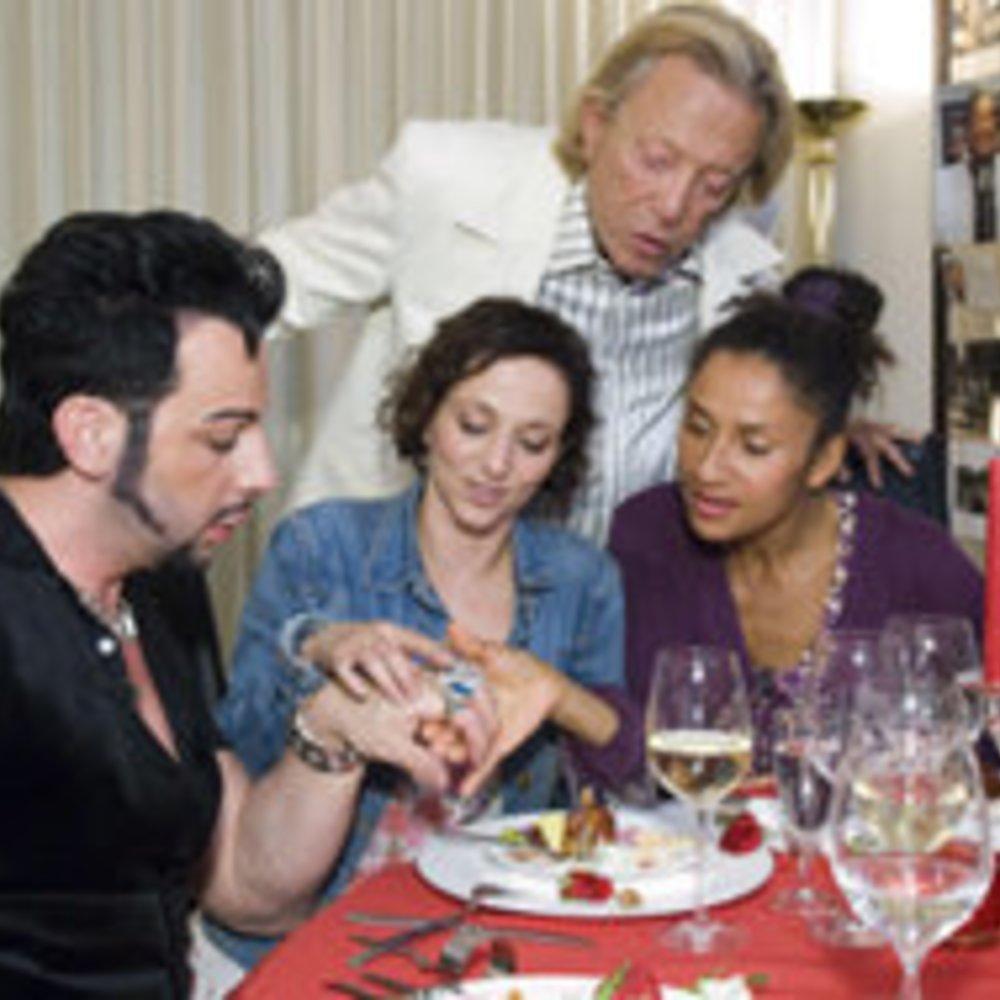 Das Perfekte Promi Dinner: Rolf Eden liebt es heiß und scharf