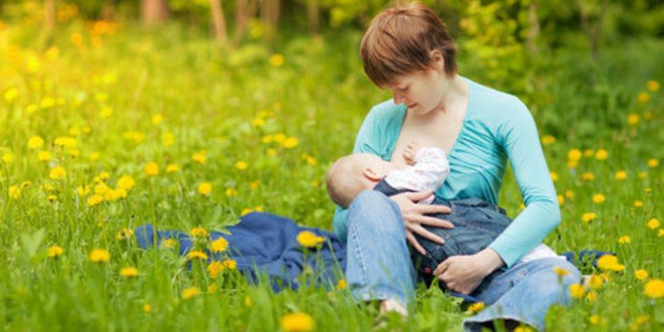 Kuhmilch-Allergie bei Babys