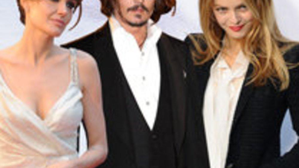 Angelina Jolie und Johnny Depp: Gemeinsame Szenen zu heiß?