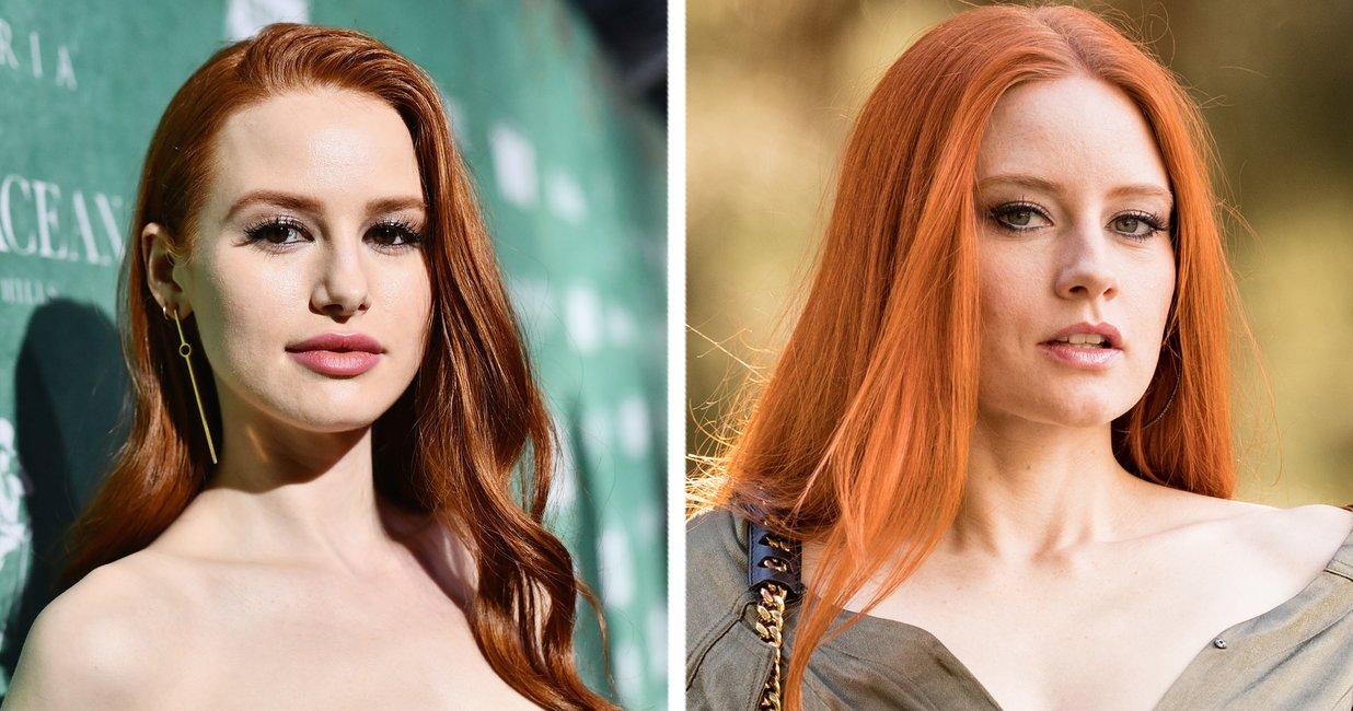 Frauen rote haare frisuren Long Bob
