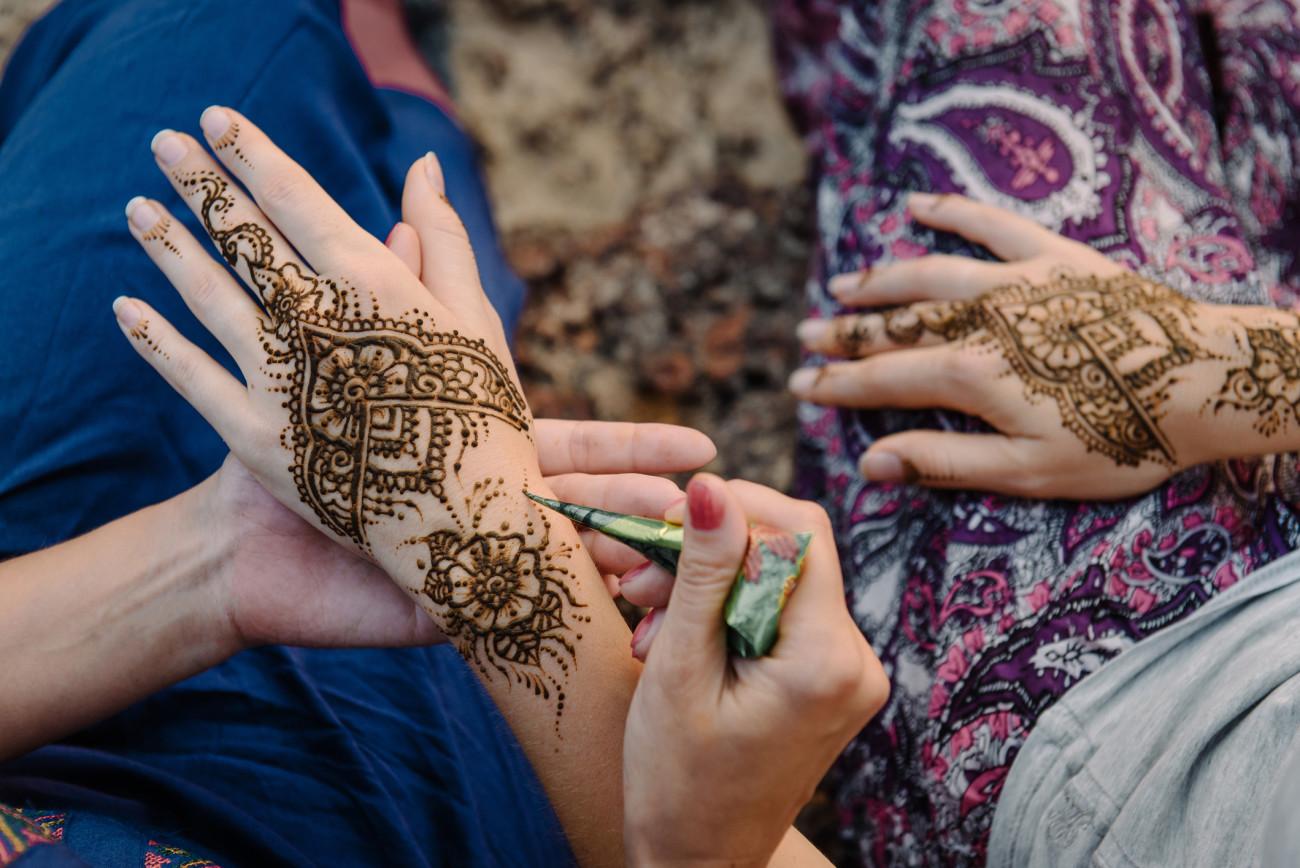 Henna Tattoo Hand Vorlagen Leicht All About Tattoo