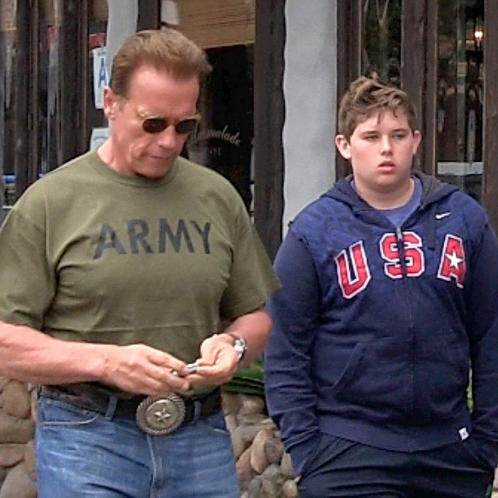 Arnie zahlt Unterhalt