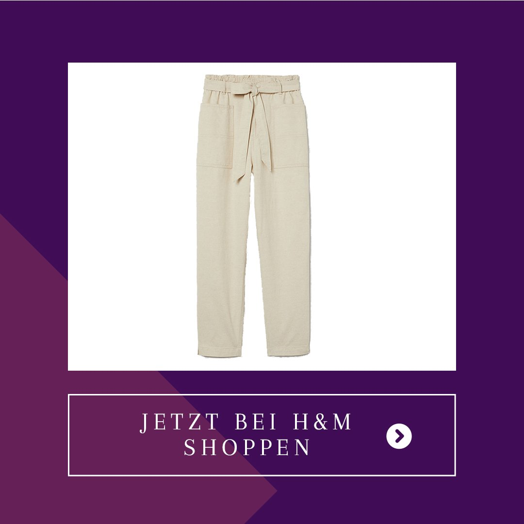 H&M Paperbag Hose Sale