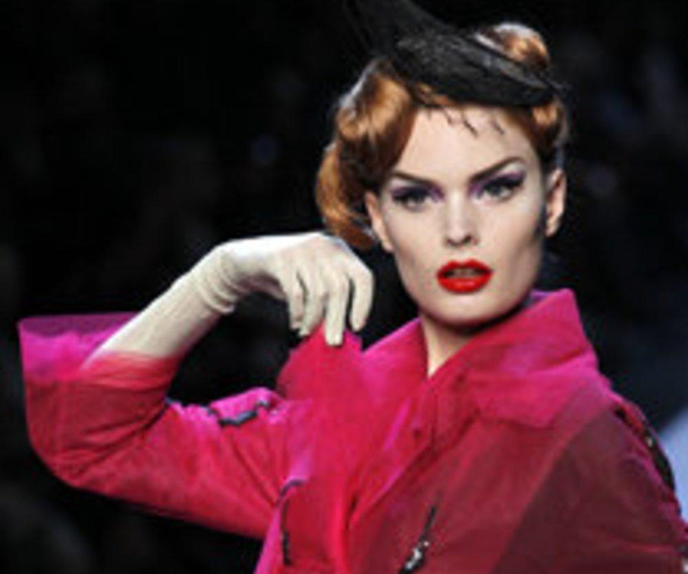 Fashion Week Paris: John Galliano für Christian Dior