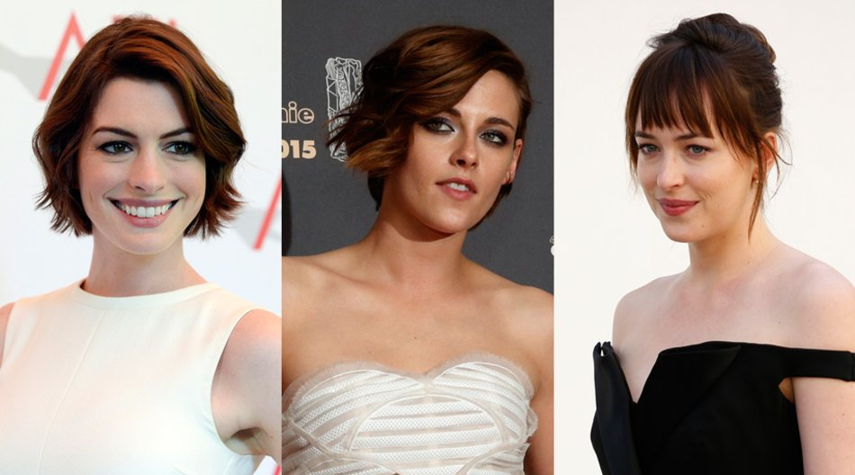 Anne Hathaway, Kristen Stewart, Dakota Johnson