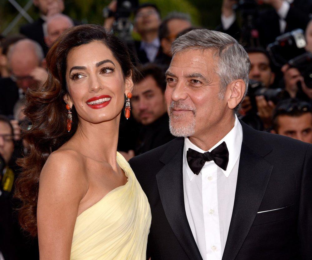 George Amal Clooney schwanger