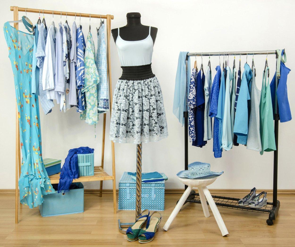 Zu kleiner Kleiderschrank - Kleiderständer