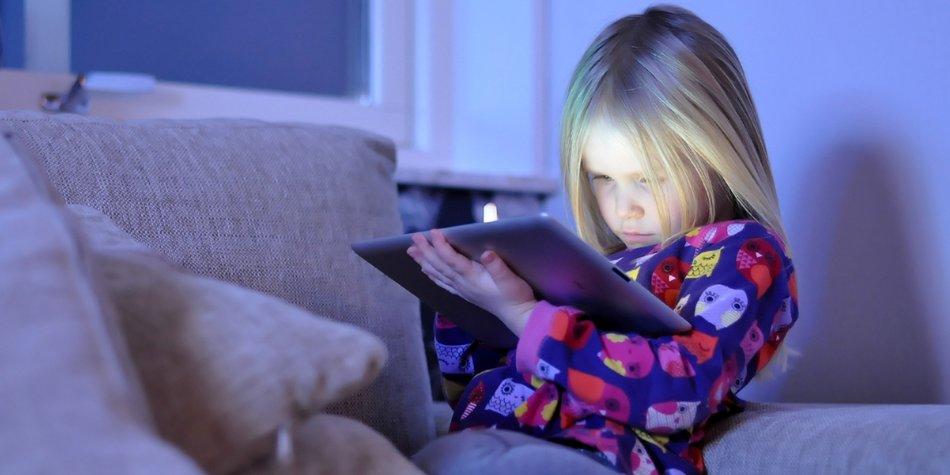 Studie: Kinder am Tablet