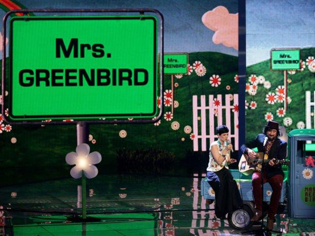 Mrs. Greenbird bei X Factor