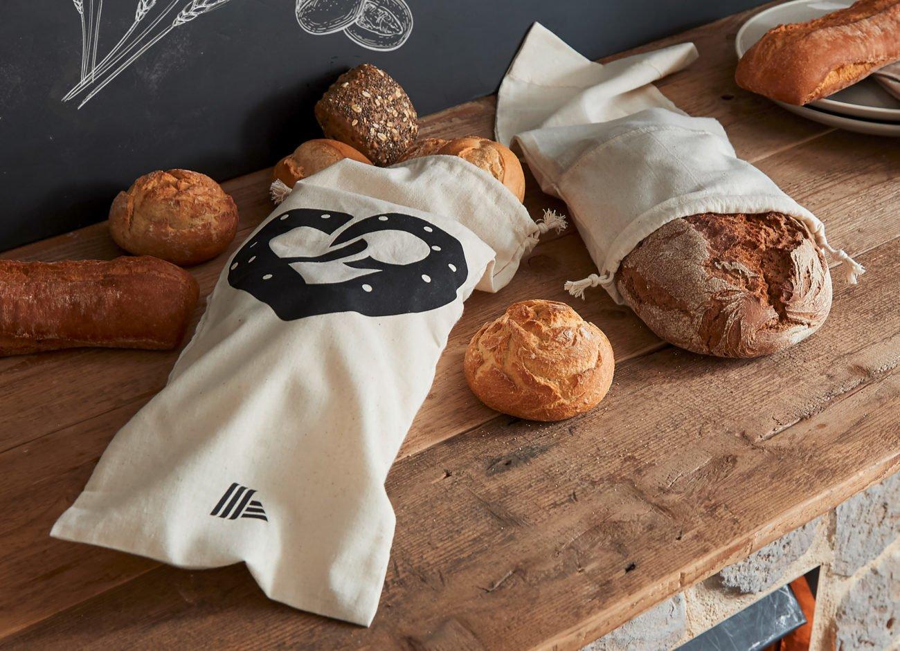 Aldi Neuerung Brotbeutel Brötchenbeutel