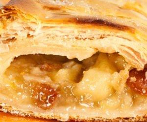 Leckerer Apfelstrudel aus Wien
