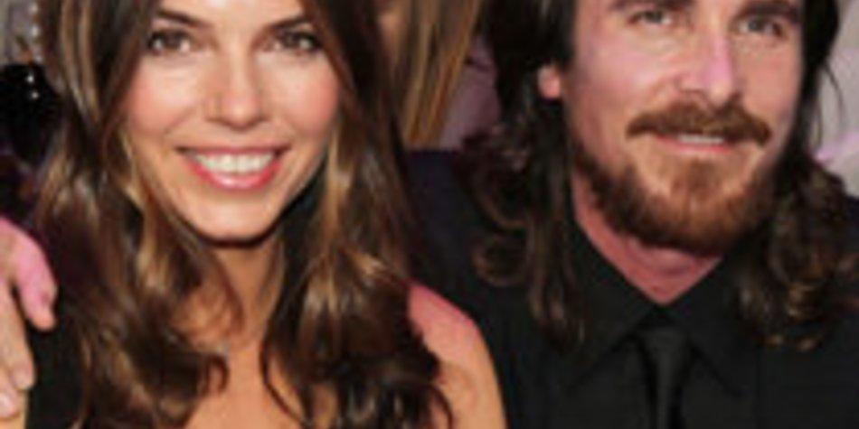 Christian Bale bedankt sich bei seiner Frau