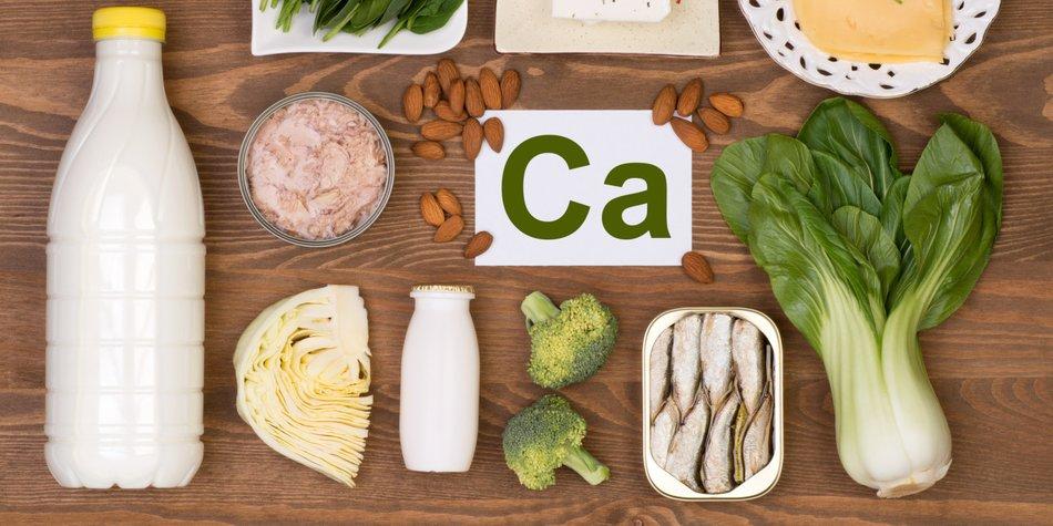 Lebensmittel mit viel Calcium