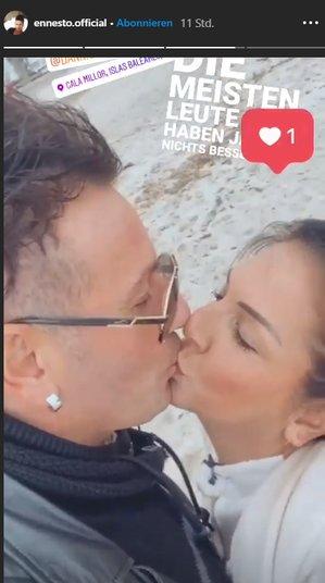 Daniela Büchner Ennesto Monté Kuss