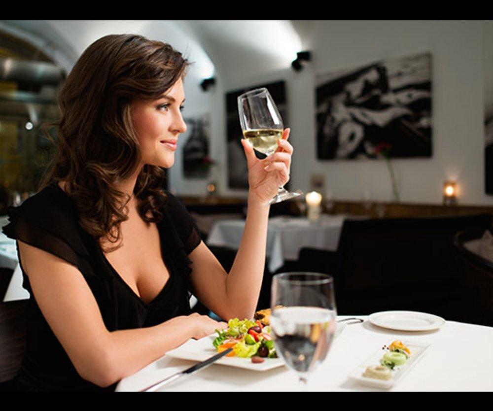 Essen alleine