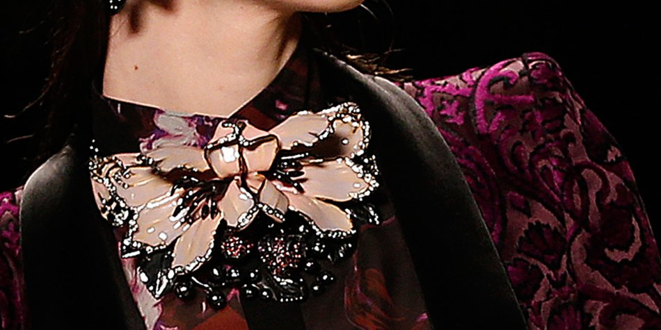 Roberto Cavalli auf der Mailänder Fashion Week Februar 2013
