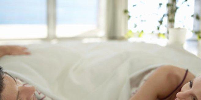 Gonorrhoe: Paar im Bett