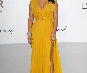 Hat Kim Kardashian ihren Babybauch größer gemogelt?