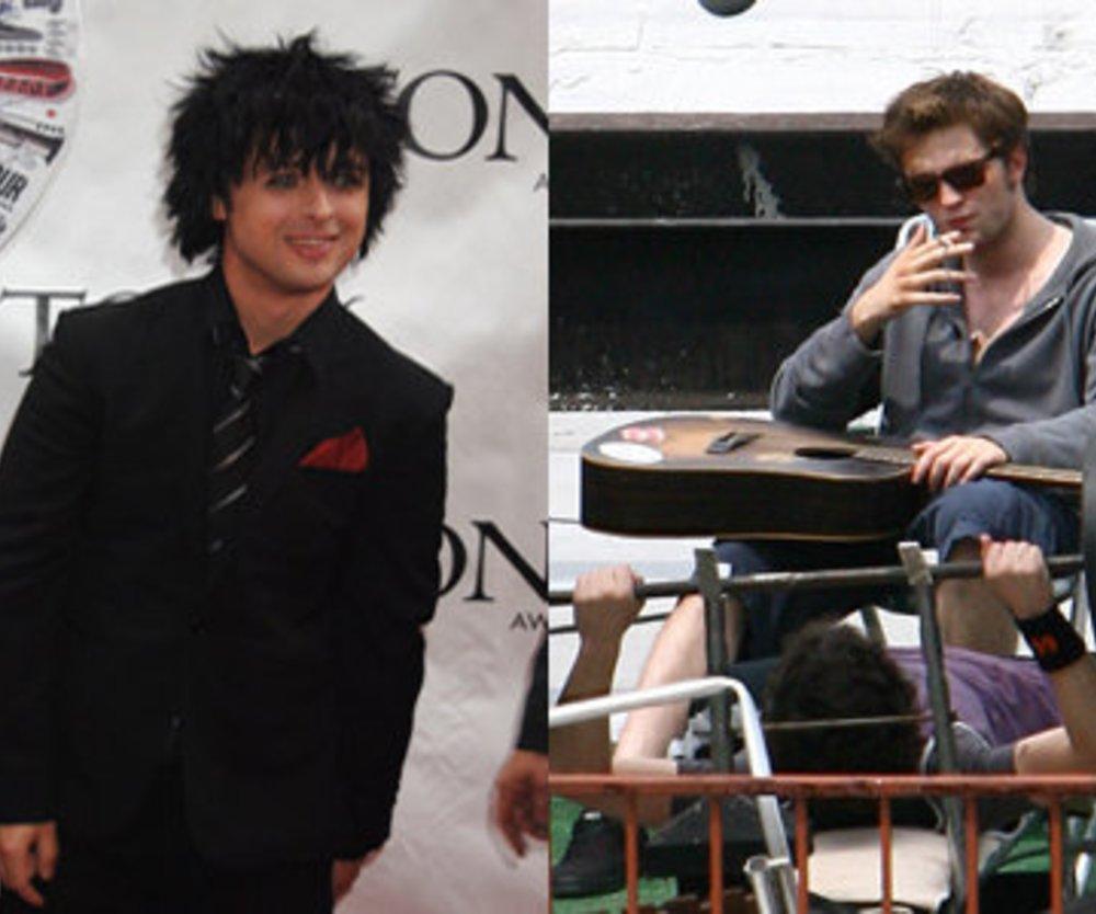 Robert Pattinson begeistert Green Day