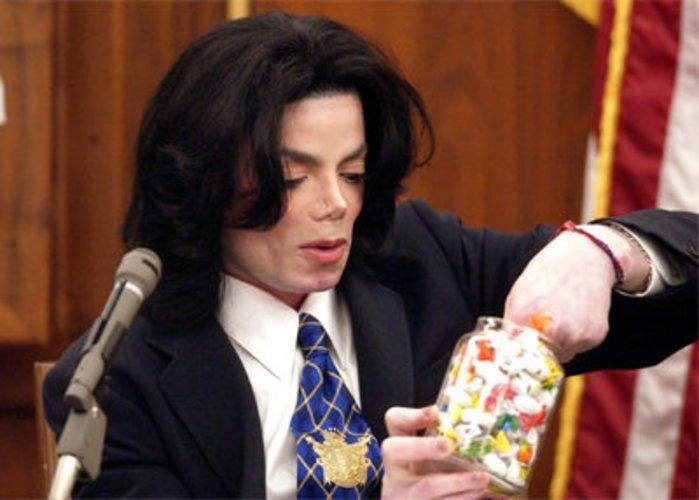 King of Pop Michael Jackson vor Gericht