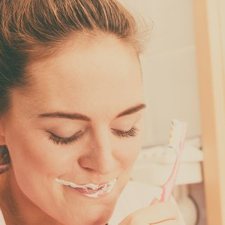 Zahnpasta Schwangerschaftstest