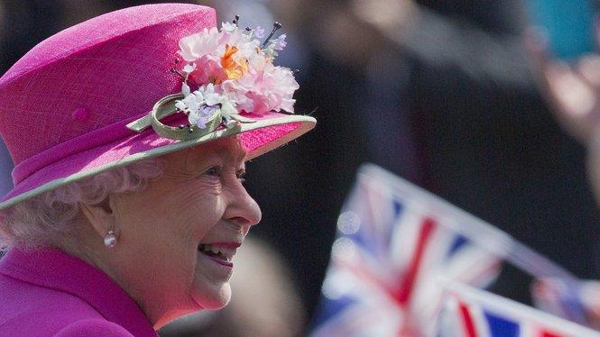 Die Britische Königin Elizabeth feiert ihren 90. Geburtstag.