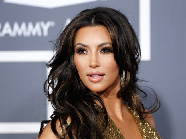 Kim Kardashian bei den Grammys