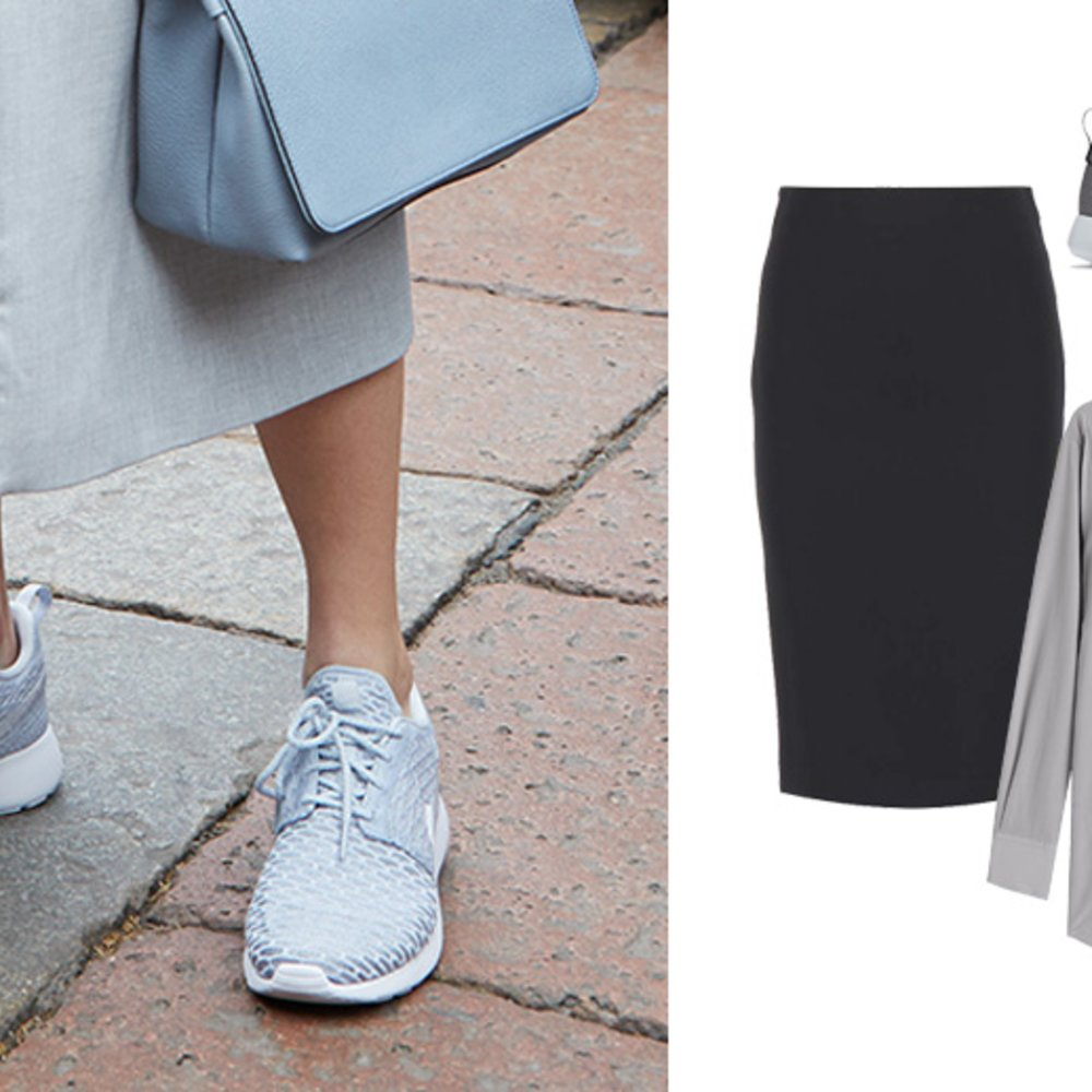 Sneakers zum Business-Look
