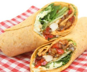 Chicken Wrap mit Curry