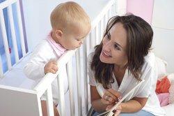 Rede viel mit ihm, wenn Dein Baby 10 Monate alt ist