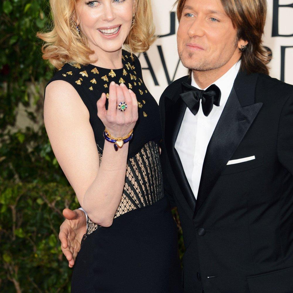 Nicole Kidman: Keith Urban ließ sie lange zappeln!