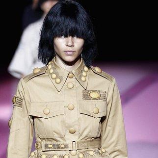 New York Fashion Week: Marc Jacobs zeigt Military-Styles mit dem gewissen Etwas