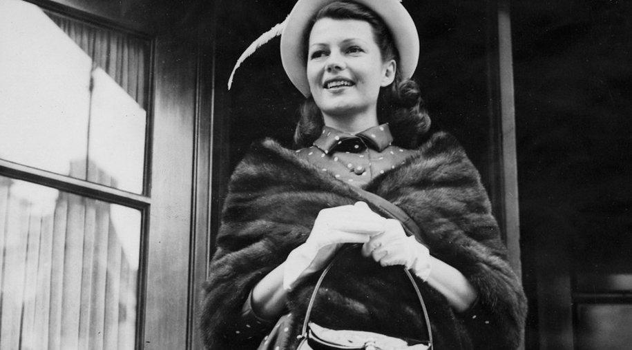 Filmschauspielerin Rita Hayworth 1949