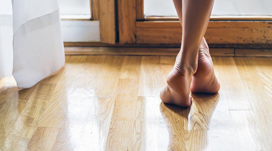 Barfuß laufen gesund
