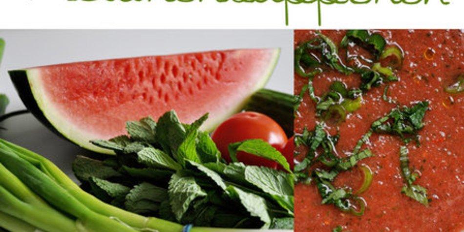 Melonensüppchen