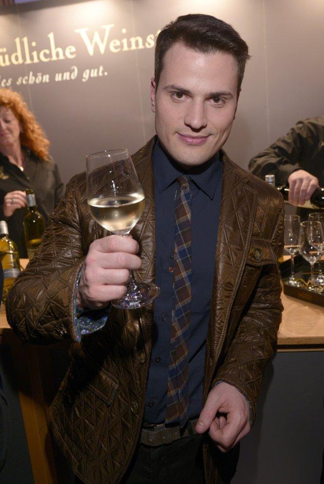 Rocco Stark bei einer Abendveranstaltung