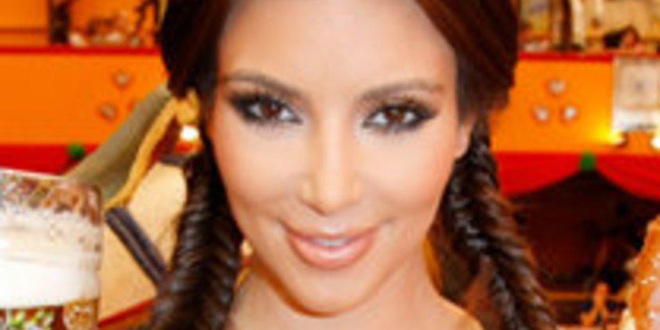 Kim Kardashian: Auf dem Oktoberfest