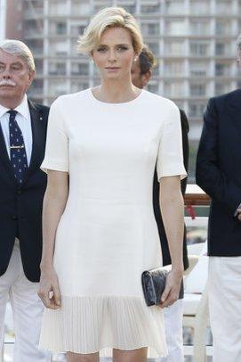 Charlène von Monaco bei der Einweihung eines neues Yachtclubs
