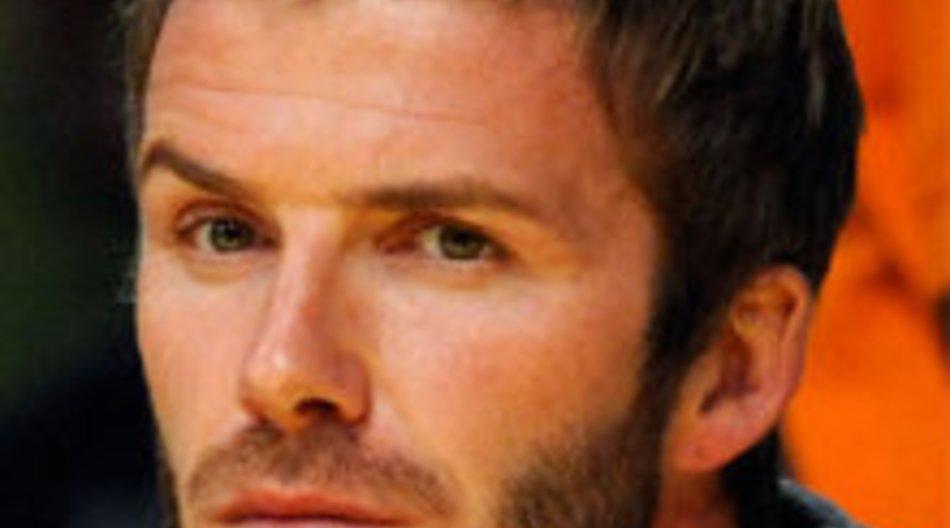 David Beckham: Moderatorin fasst ihm in den Schritt