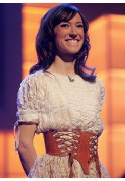 charlotte Roche auf der Bühne