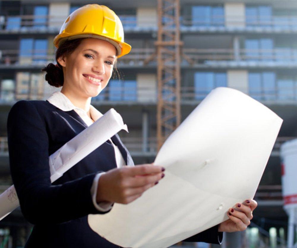 Attraktive Frauenberufe - Architektin