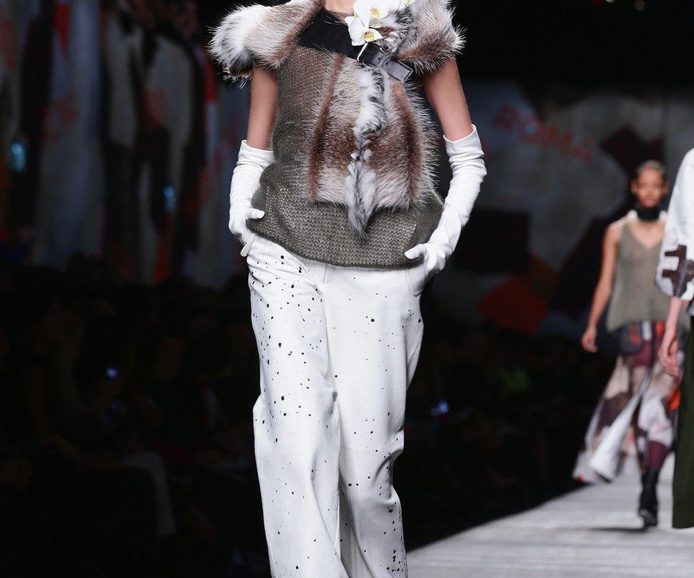 Mailand Fashion Week: Fendi zwischen Sportlichkeit und Eleganz