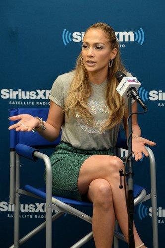 Jennifer Lopez in der SiriusXM Town Hall