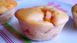 Aprikosenmuffins nach Art Käsekuchen