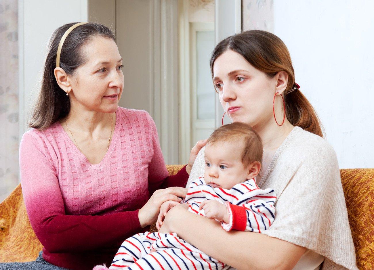 Postnatale Depression Unterstützung