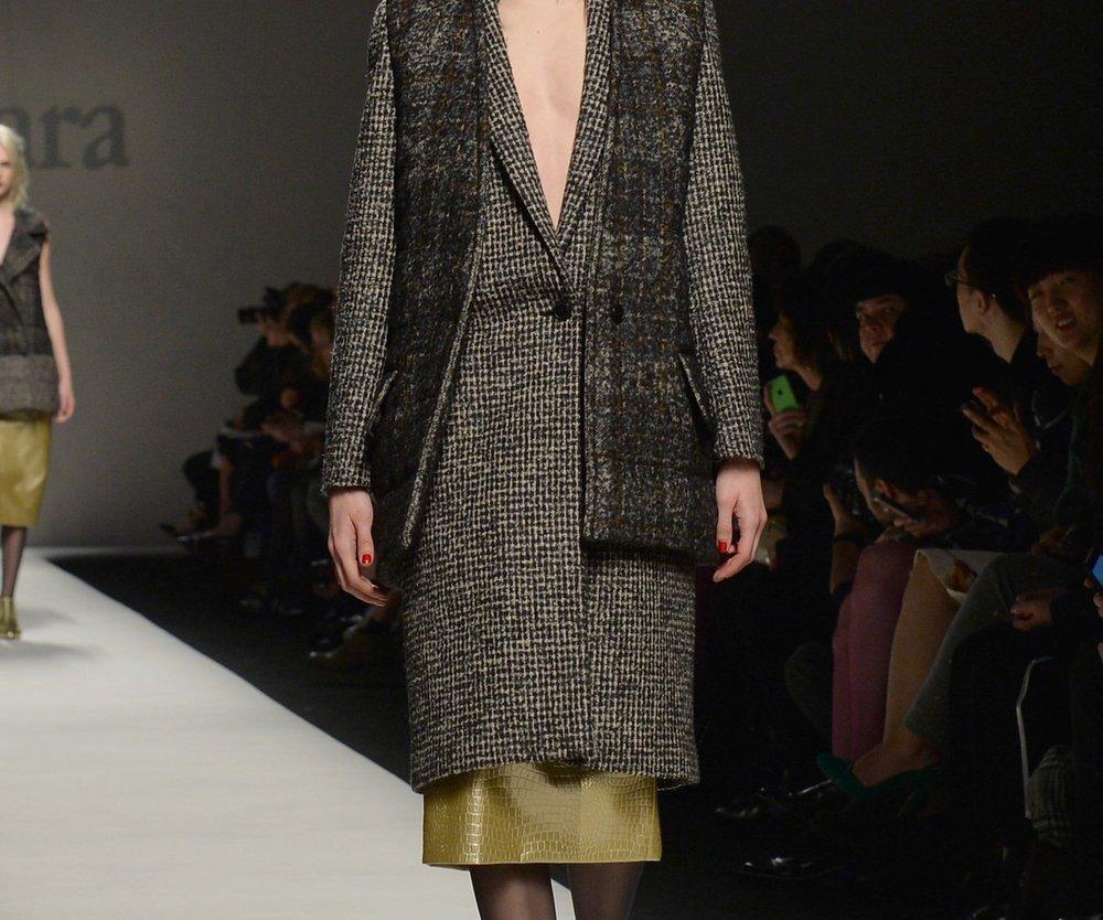 Mailand Fashion Week: Max Mara mag es englisch