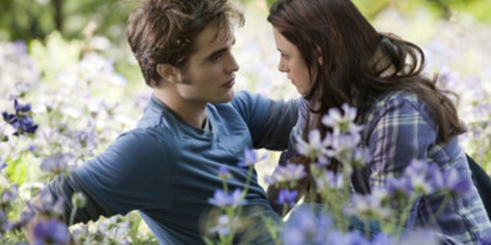 Robert Pattinson und Kristen Stewart in Eclipse